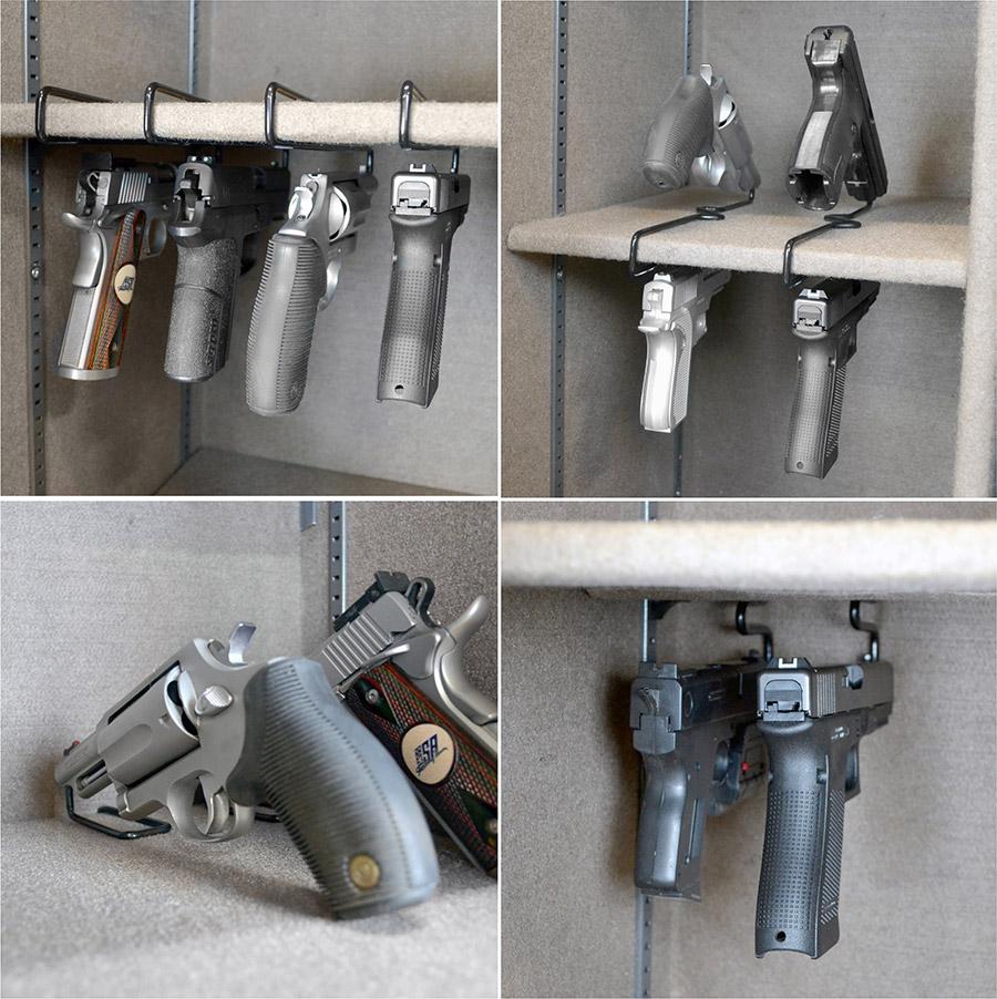 Gun Safe Accessories Door Organizers Shelves Rods