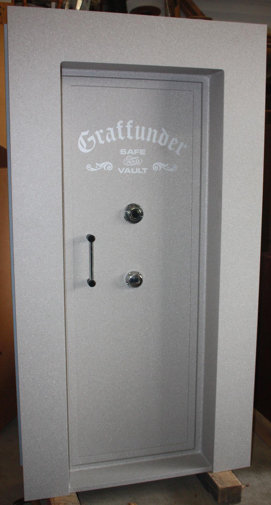 Avoid problems: Plan ahead when installing the vault door in your new home. - Vault Doors For Sale Gun Vault Safe Room
